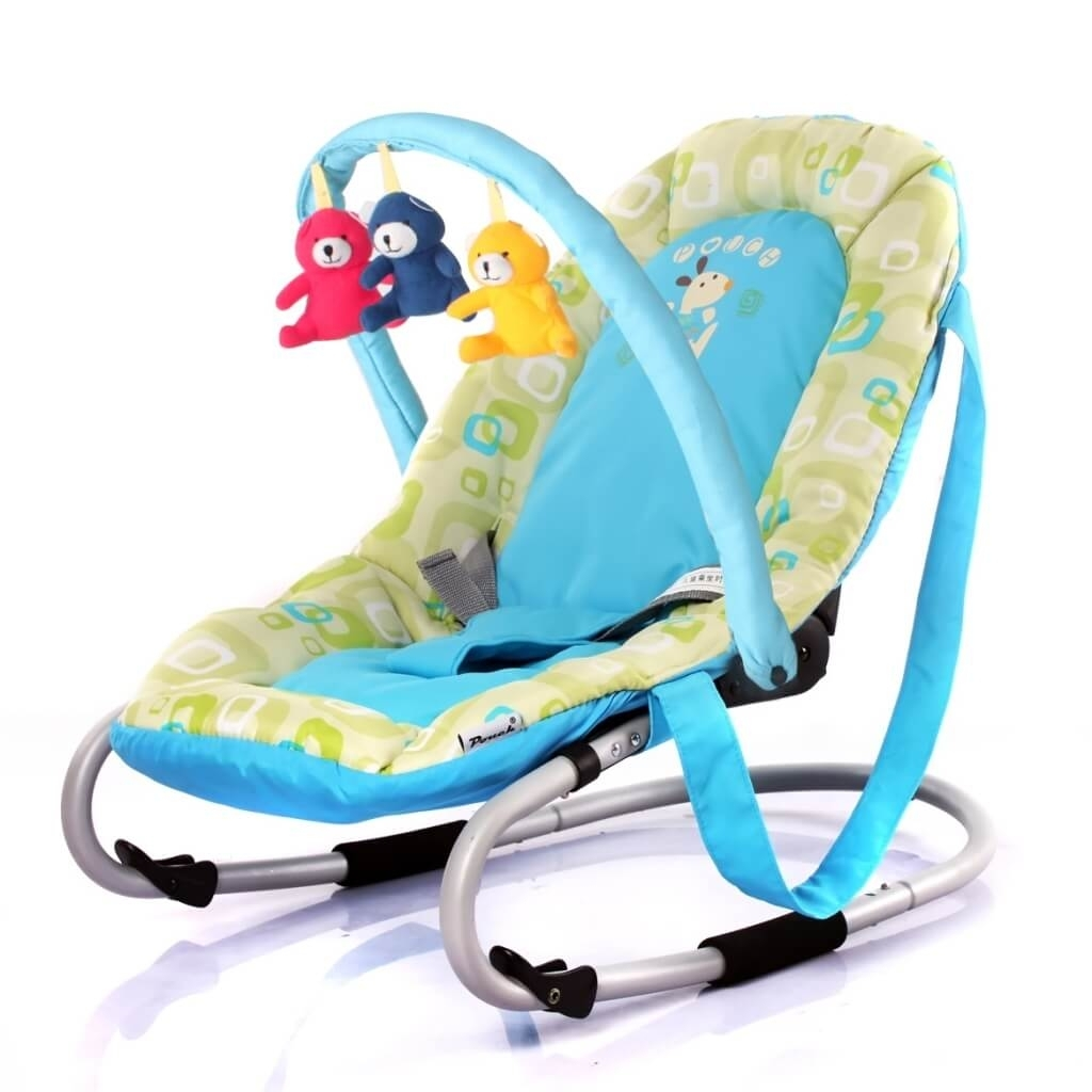 Furniture: Terrific Green Dino Rocking Chair For Baby For Baby Throughout Rocking Chairs For Babies (#12 of 15)