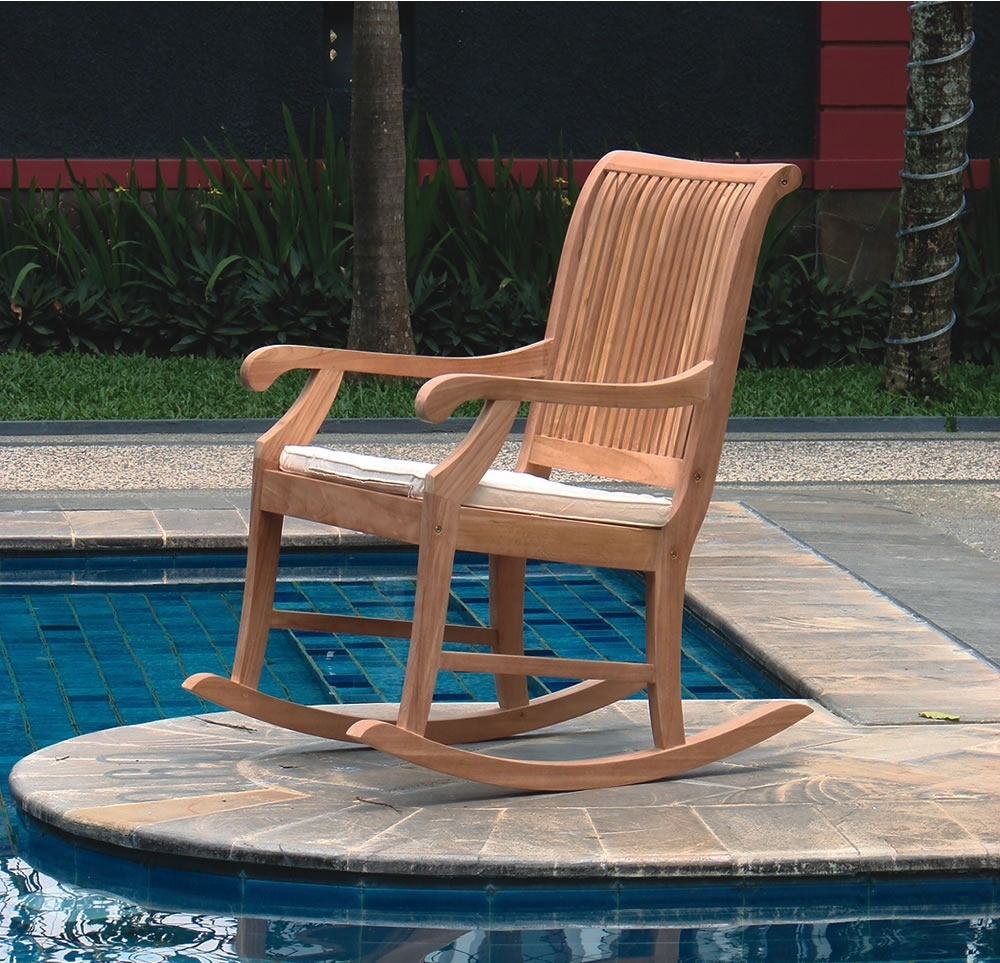 Inspiration about Garden Rocking Chair Koolau Country Gardens In Rocking Chairs For Garden (#3 of 15)