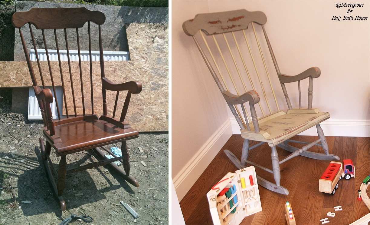 Hbh Eastbourne: A Spot Of Child Friendly Designing & Upcycling With In Upcycled Rocking Chairs (View 5 of 15)