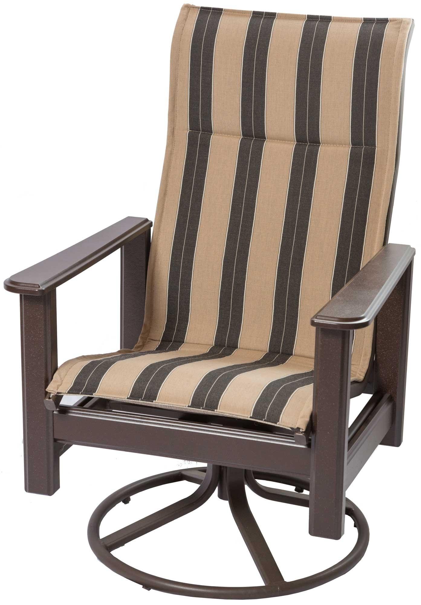 High Back Outdoor Swivel Rocker | Outdoor Swivel Rocking Chair Regarding High Back Rocking Chairs (View 15 of 15)