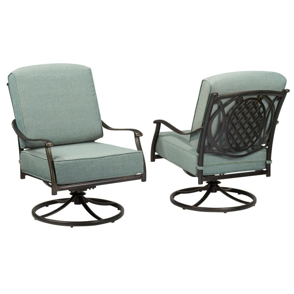 Home Decorators Collection Bolingbrook Rocking Patio Chair | Outdoor Inside Hampton Bay Rocking Patio Chairs (#12 of 15)