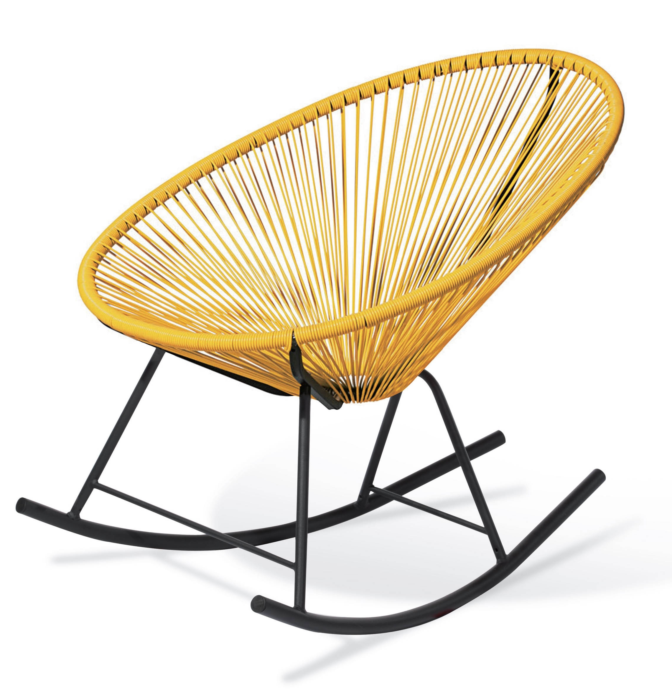 Honey Bee Patio Rocking Chair | Furniture & Home Décor | Fortytwo Regarding Patio Rocking Chairs (View 6 of 15)