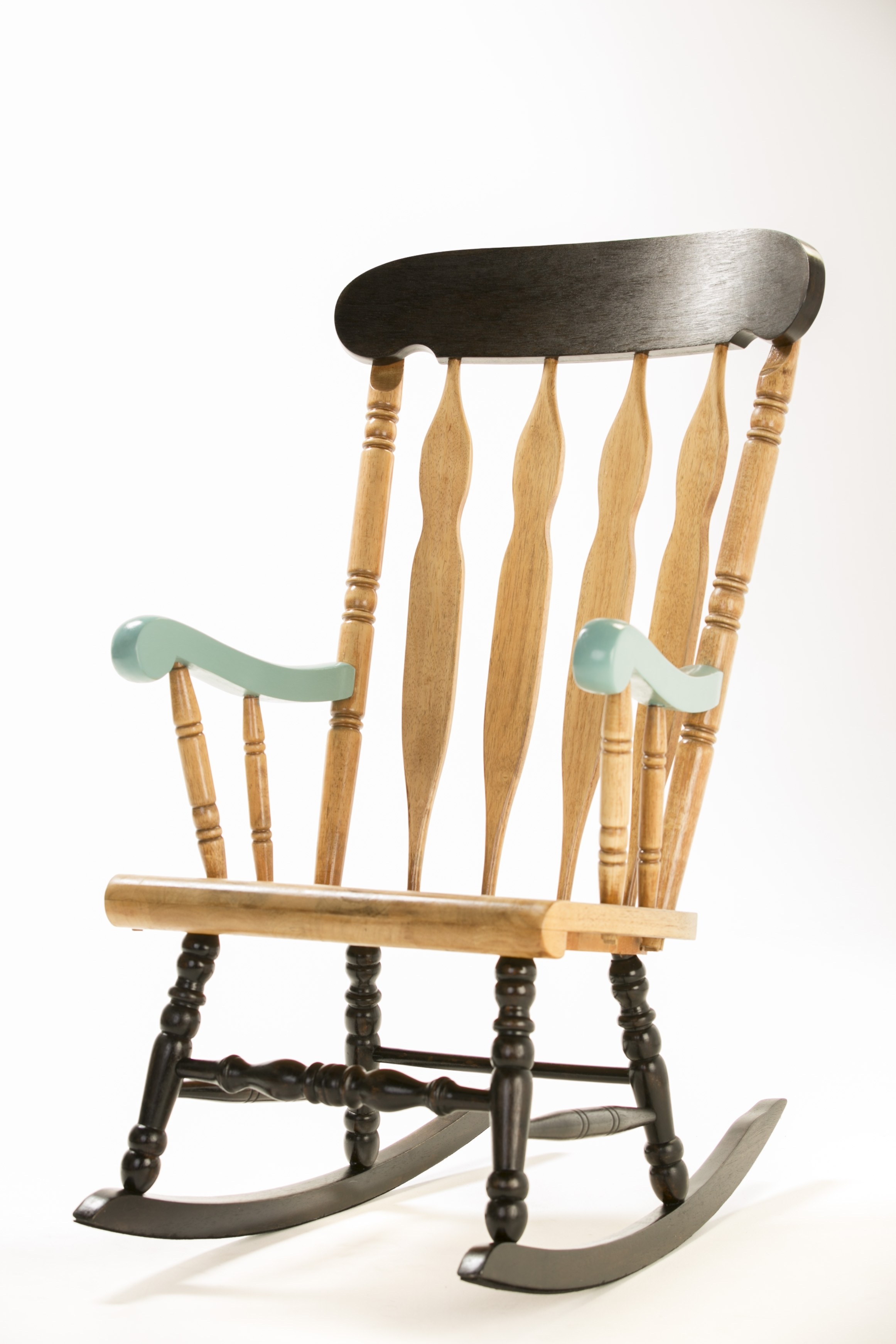 How To: Upcycle A Timber Rocking Chair – The Interiors Addict With Upcycled Rocking Chairs (#9 of 15)