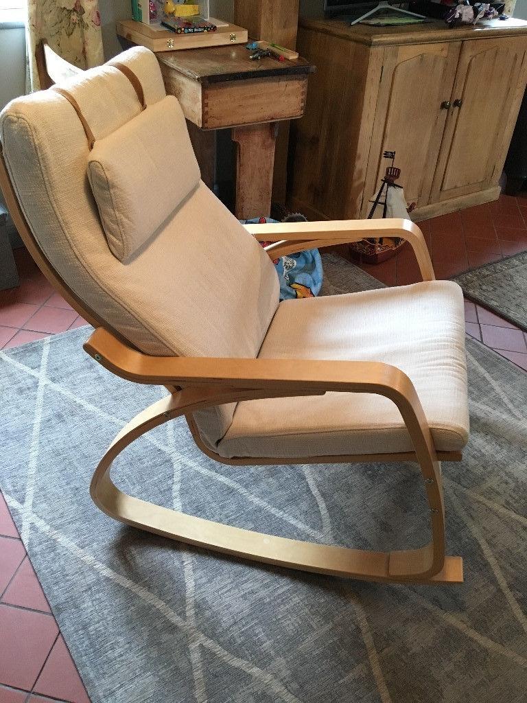 Ikea Poang Rocking Chair | In Eye, Suffolk | Gumtree Throughout Rocking Chairs At Gumtree (#2 of 15)