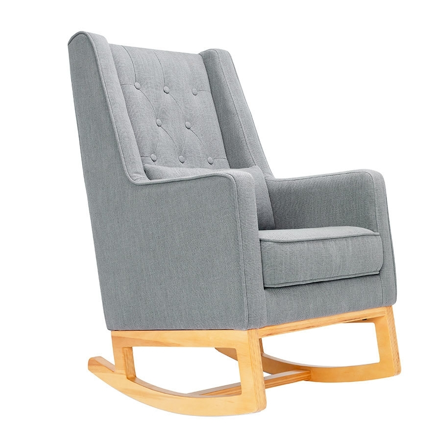 Il Tutto Casper Rocking Chair & Ottoman – Babyroad Intended For Rocking Chairs With Ottoman (#10 of 15)