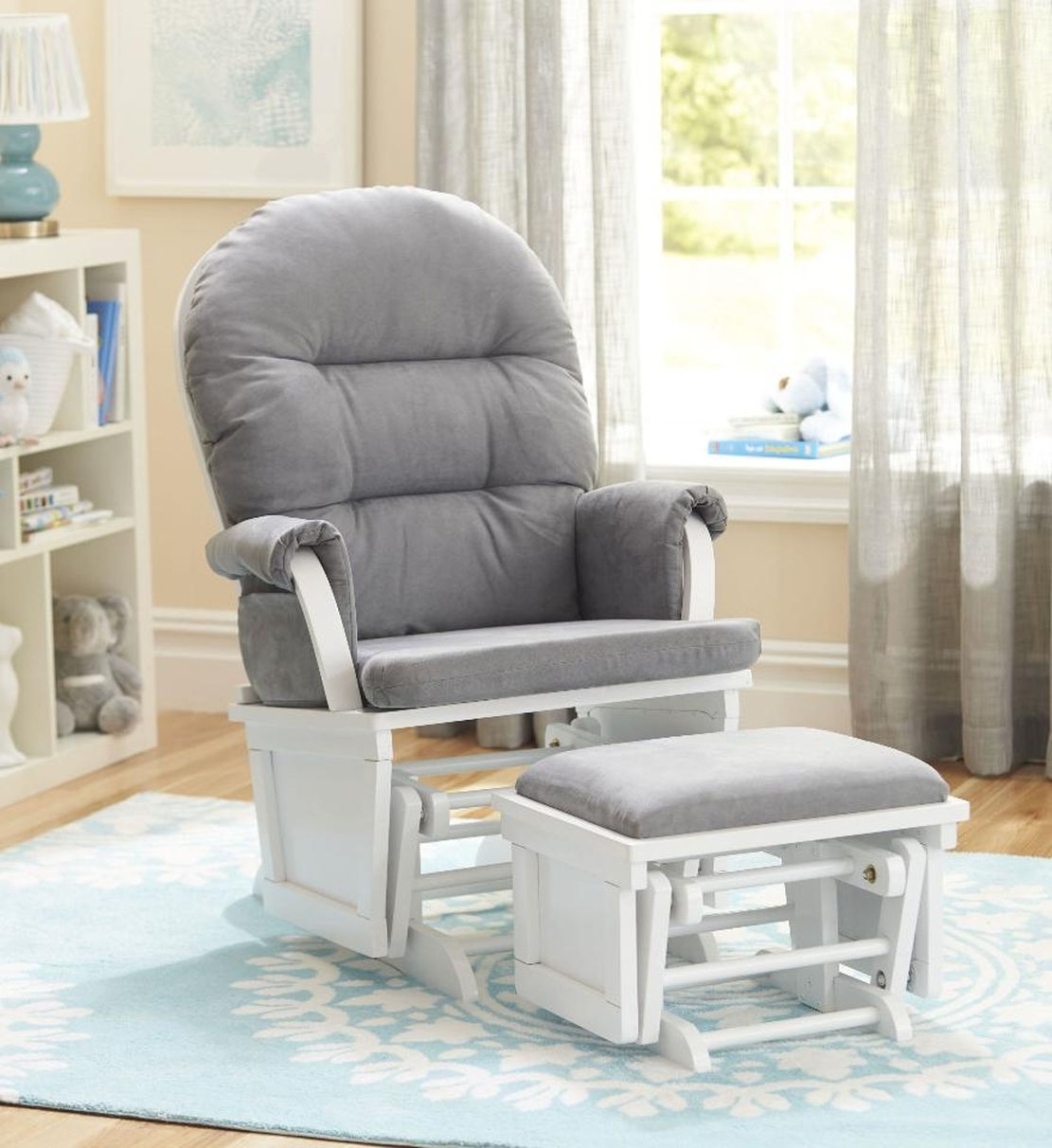 Inexpensive Nursery Rocking Chair Nursery Rocking Chair To Help Inside Rocking Chairs For Nursery (#7 of 15)