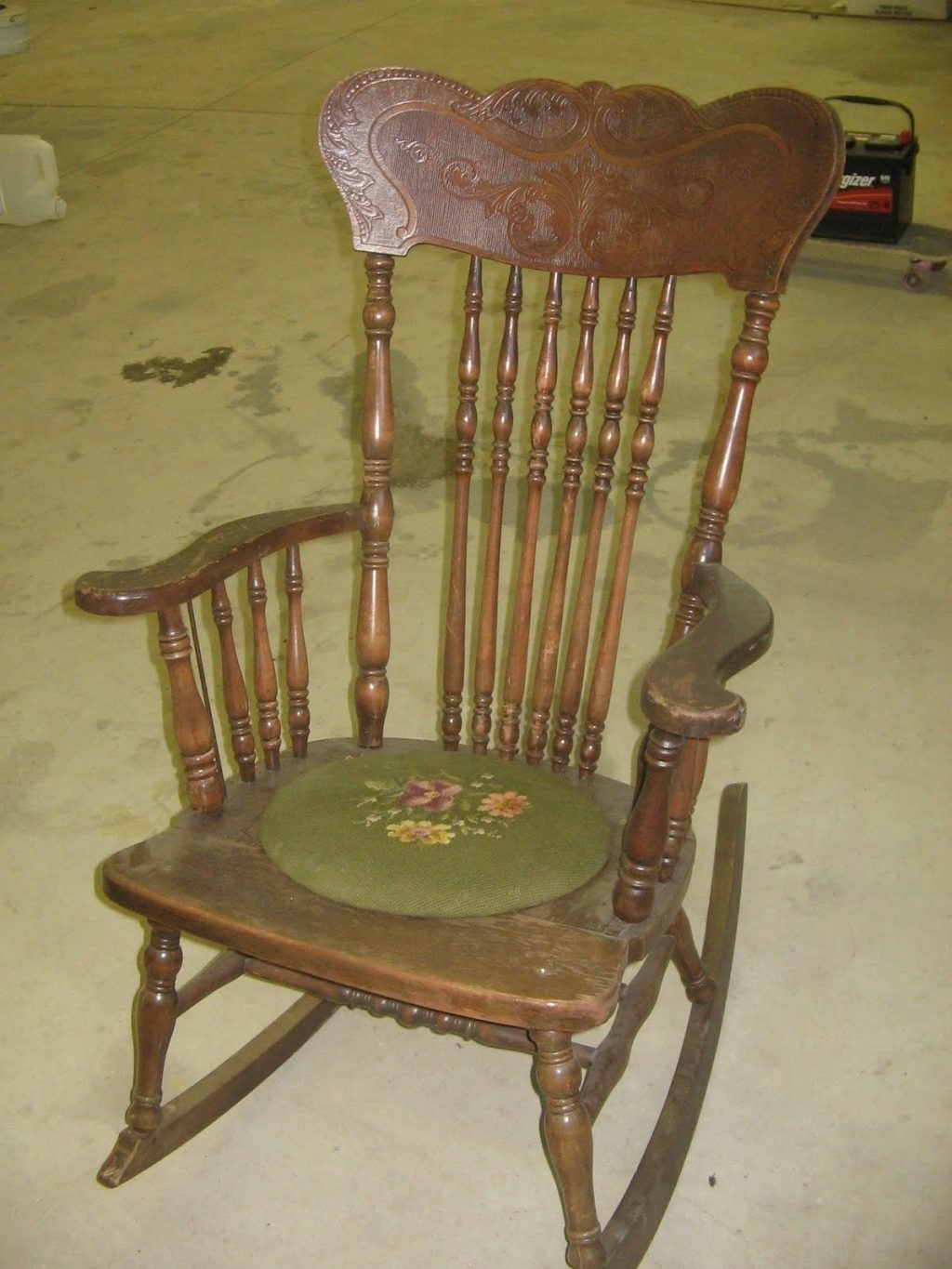 Inspiration about Interior : Amusing Antique Rocking Chair Value 16 On Furniture Regarding Antique Rocking Chairs (#7 of 15)
