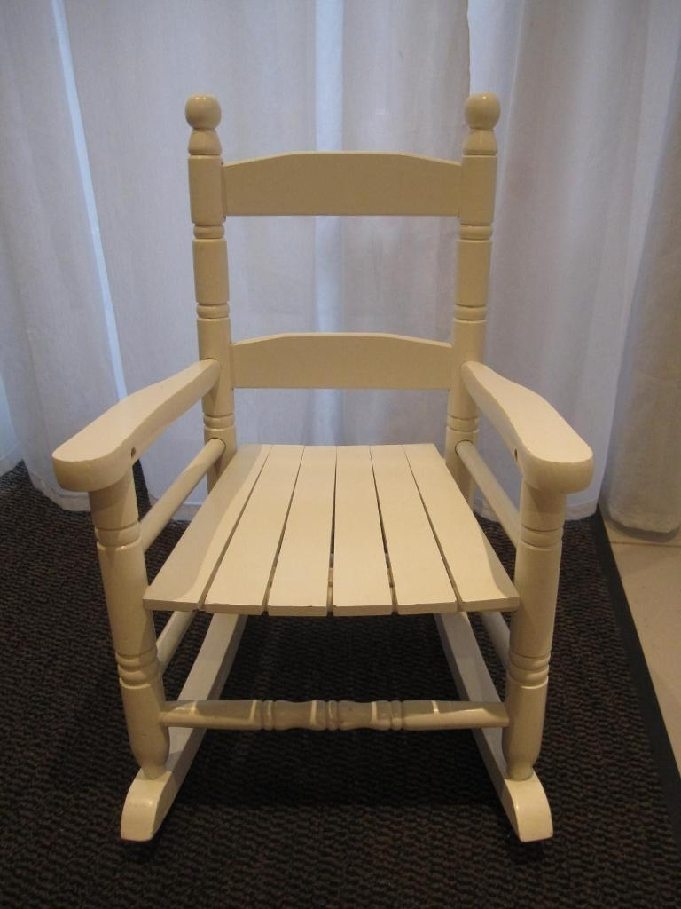 Kids Wooden Rocking Chair | In Archway, London | Gumtree In Rocking Chairs At Gumtree (View 4 of 15)