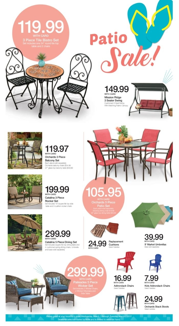 Kroger And Fry's Patio Furniture Selection In Rocking Chairs At Kroger (View 15 of 15)