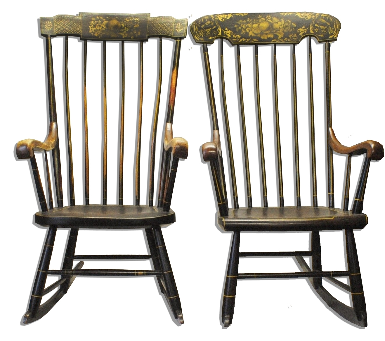 Lincoln's Rocking Chairs Sell For $26K – Antique Trader Within Antique Rocking Chairs (#11 of 15)