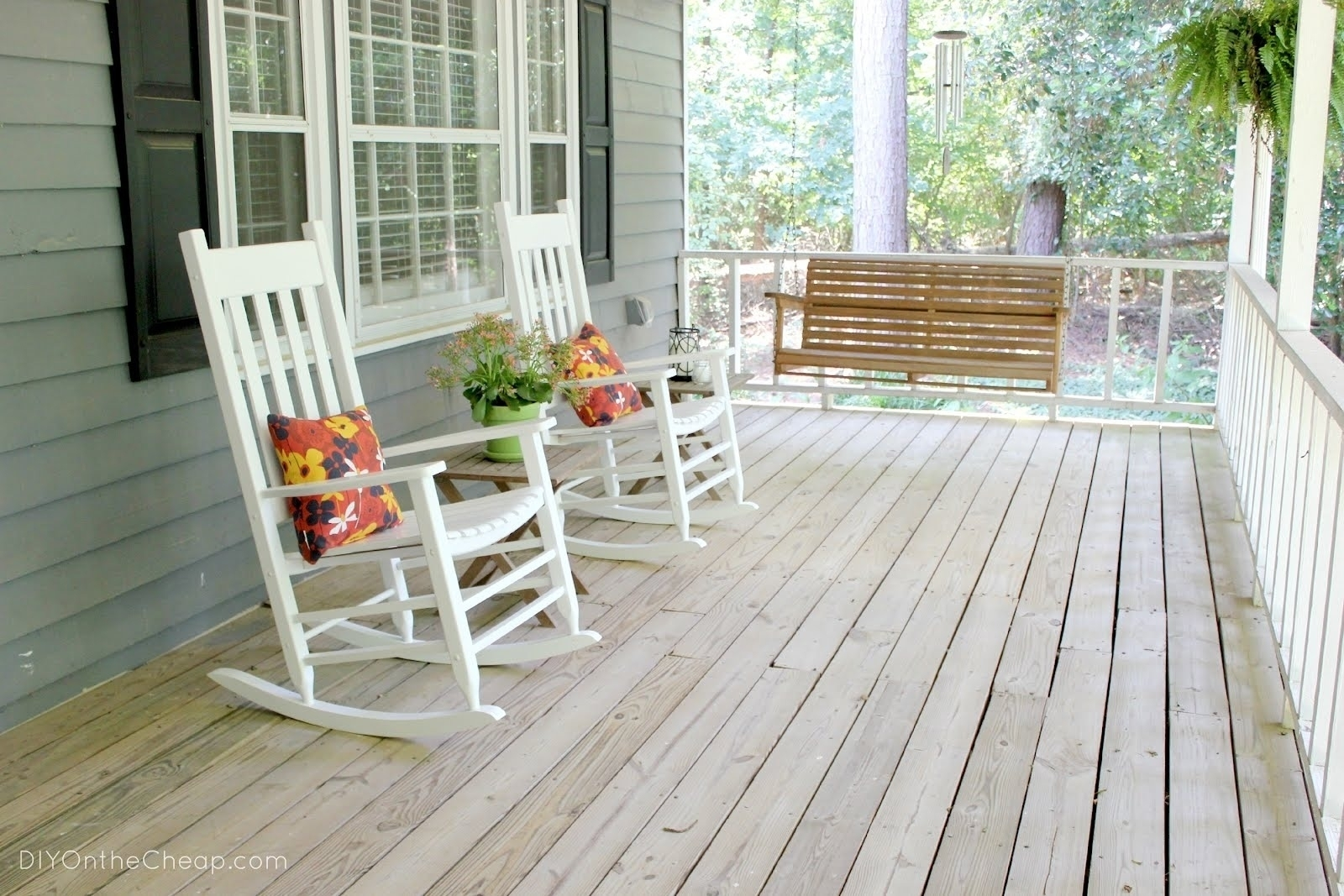Inspiration about Living Room Furniture : Astounding Rocking Chair Front Porch Is Like Inside Rocking Chairs For Front Porch (#7 of 15)