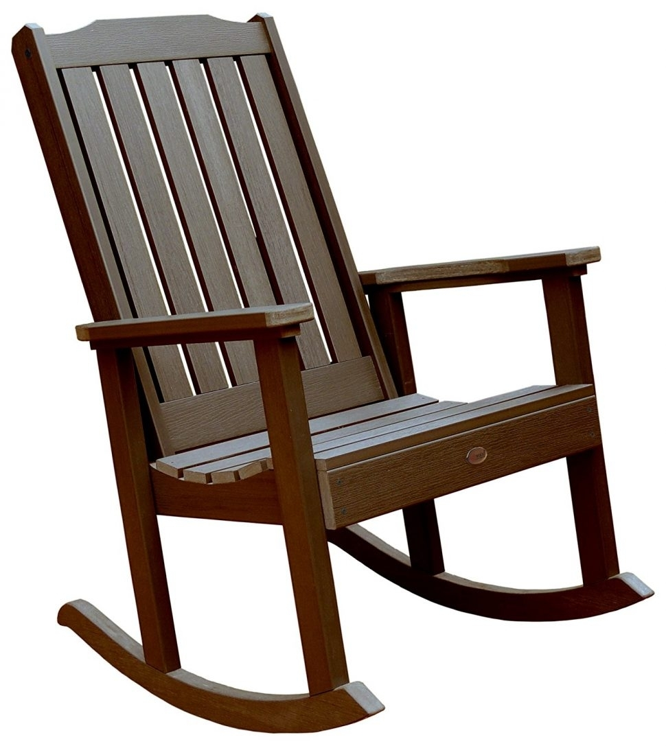 Inspiration about Livingroom : Patio Rocking Chairs Brown Wicker Outside Chair Canada Regarding Patio Rocking Chairs Sets (#12 of 15)