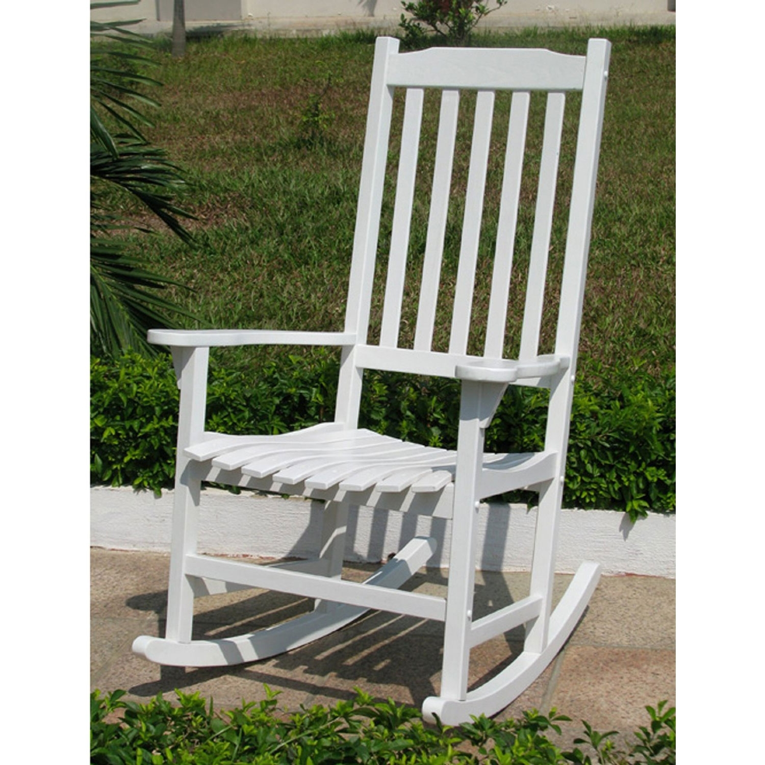 Lovely Cheap Patio Chairs Semco Recycled Plastic Rocking Chair Inside Inexpensive Patio Rocking Chairs (#4 of 15)