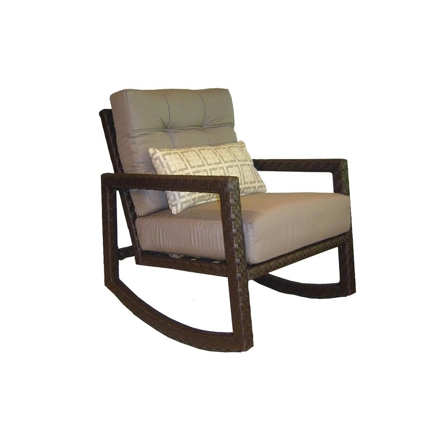Lowes Rocking Chairs Wood Chair Cushions Outdoor – Restorethelakes With Regard To Rocking Chairs At Lowes (View 14 of 15)