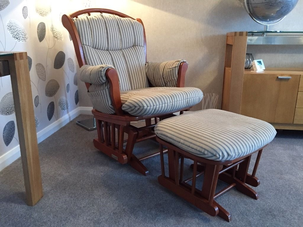 Inspiration about Luxury Glider Rocking Chairs 1 Appealing Best Chair U Jacshoot Intended For Rocking Chairs With Footstool (#15 of 15)