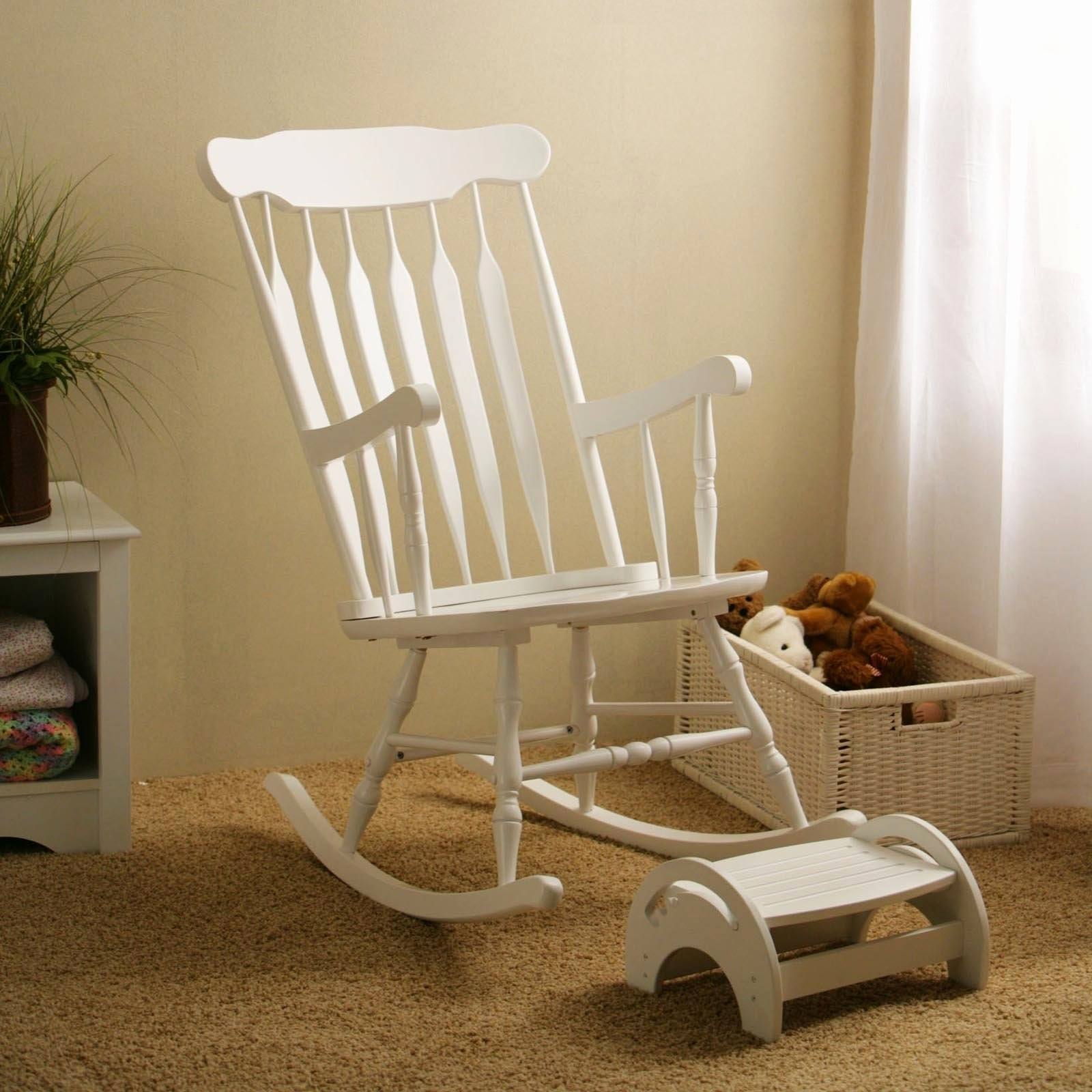 Inspiration about Luxury Wicker Rocking Chair Graphics Home Improvement Lovely Intended For White Wicker Rocking Chair For Nursery (#3 of 15)