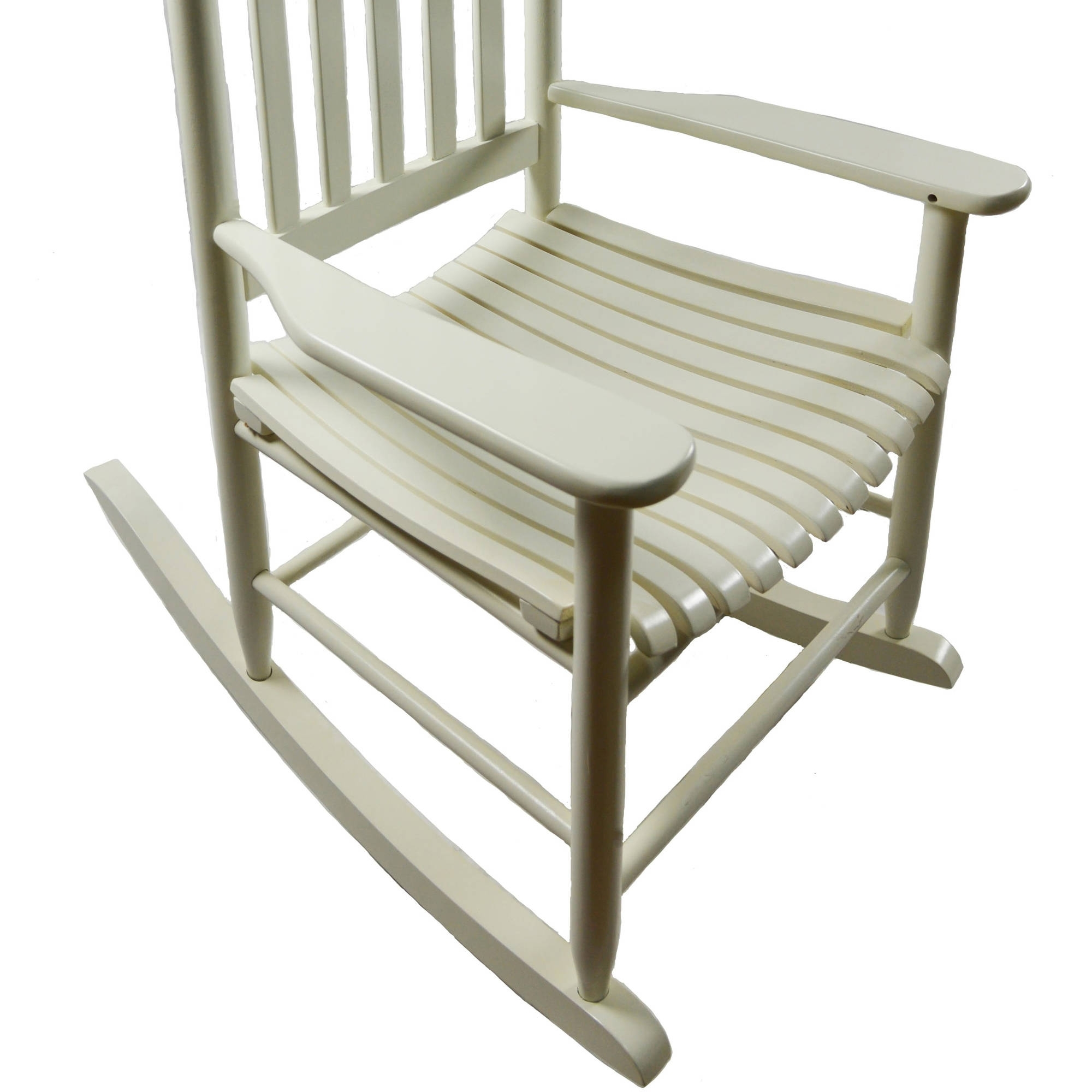 Inspiration about Mainstays Outdoor Wood Rocking Chair – Walmart Pertaining To Rocking Chairs At Walmart (#1 of 15)