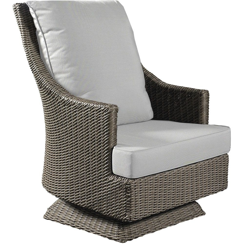 Manhattan Swiveling Rocker | Beach H | Pinterest | Rockers Intended For Manhattan Patio Grey Rocking Chairs (#7 of 15)