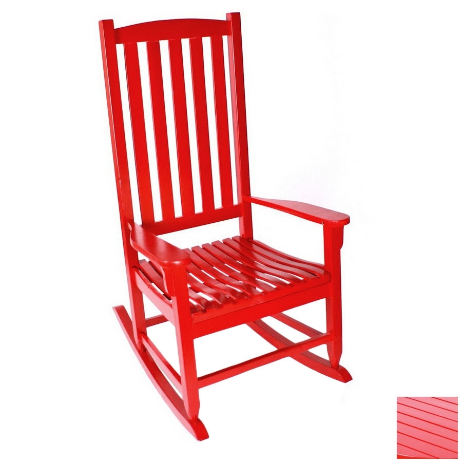 Inspiration about Manufacturing Red Outdoor Rocking Chair Lazy Boy Recliner Covers Within Red Patio Rocking Chairs (#6 of 15)