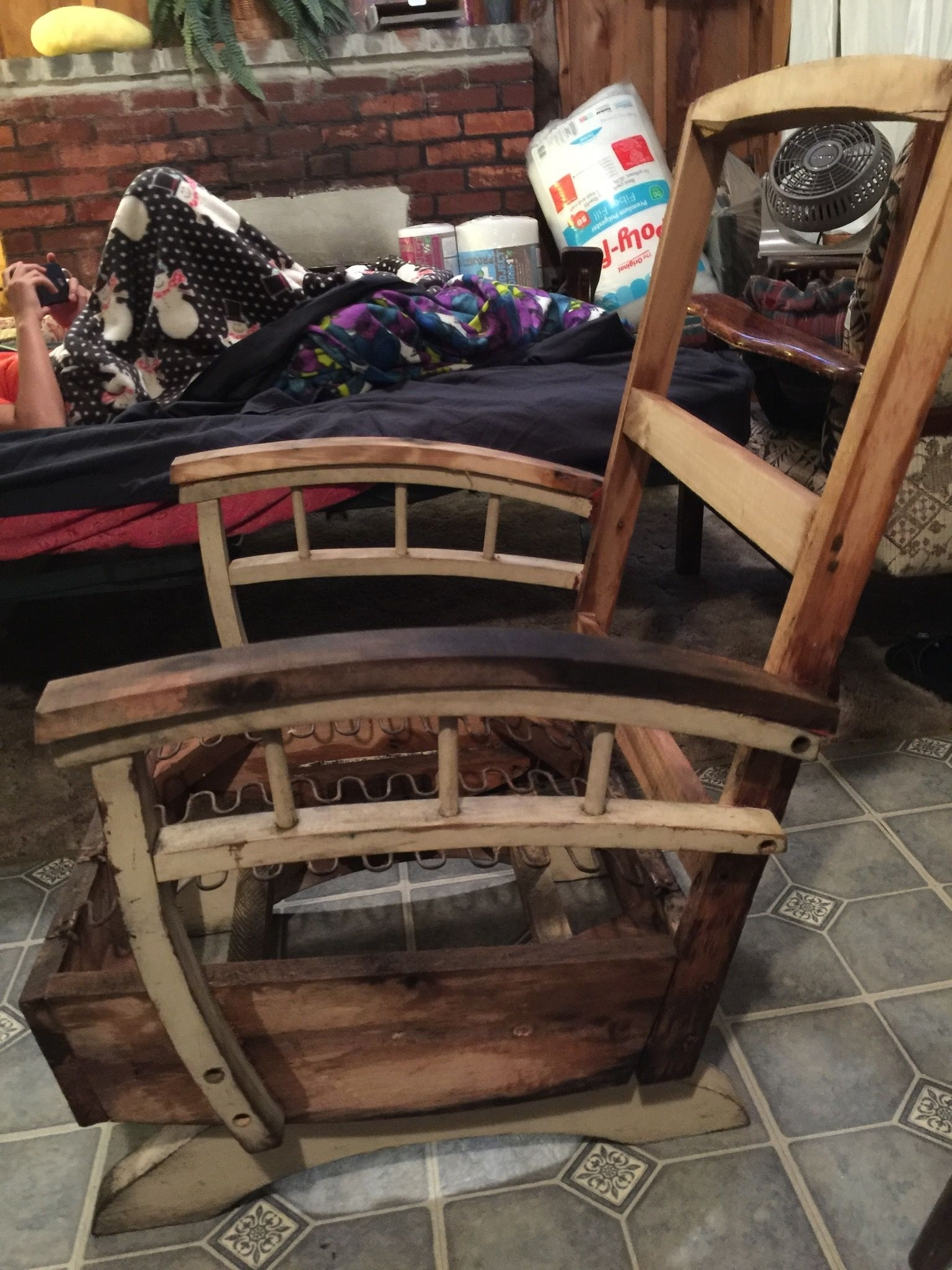 Naked Chair! Stripped Down To Bare Bones! On Vacation In Maine Throughout Zen Rocking Chairs (View 9 of 15)