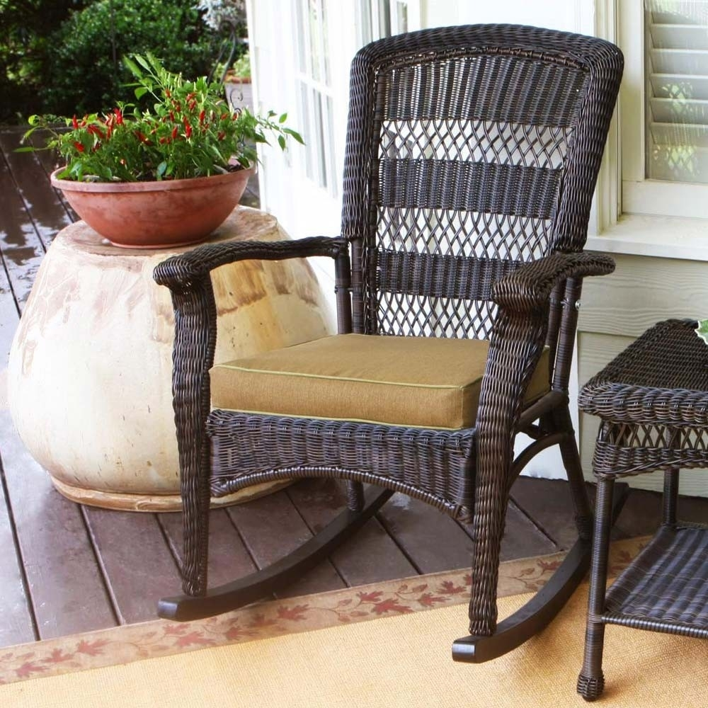 Nice Outdoor Wicker Rocking Chairs — Wilson Home Ideas : How Oil With Outdoor Wicker Rocking Chairs (View 9 of 15)