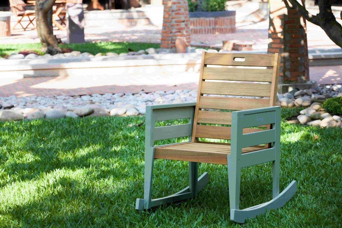 Norfolk Leisure Florenity Verdi Rocking Chair | Hayes Garden World Inside Rocking Chairs For Garden (#10 of 15)