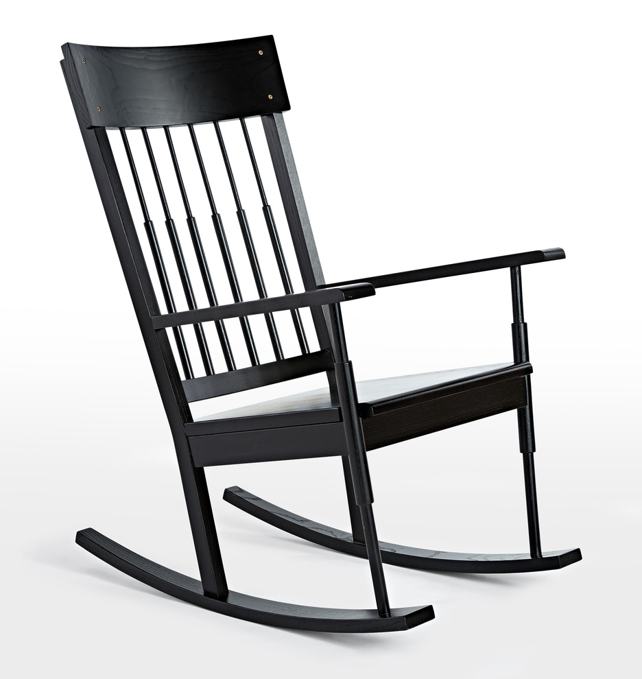 O&g Rocking Chair | Rejuvenation For Black Rocking Chairs (#11 of 15)