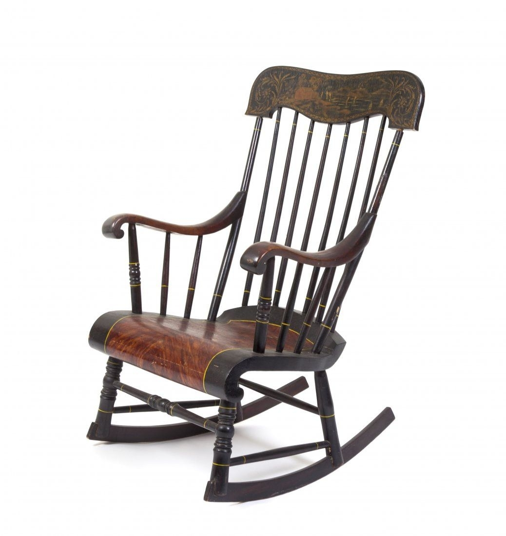 Popular Photo of Old Fashioned Rocking Chairs