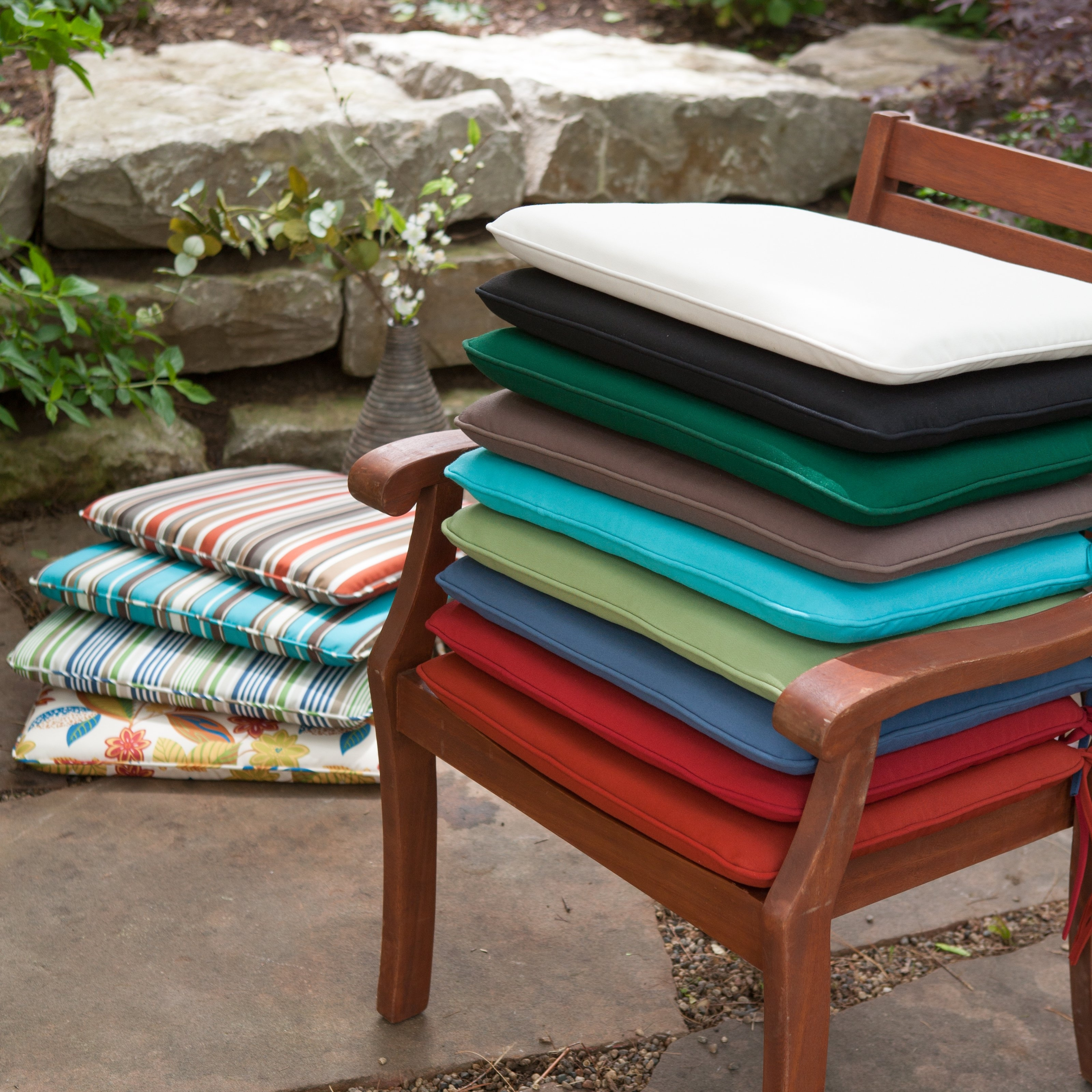 Outdoor Rocking Chair Seat Cushions Modern Bench Cushion Ideas For Rocking Chair Cushions For Outdoor (#10 of 15)