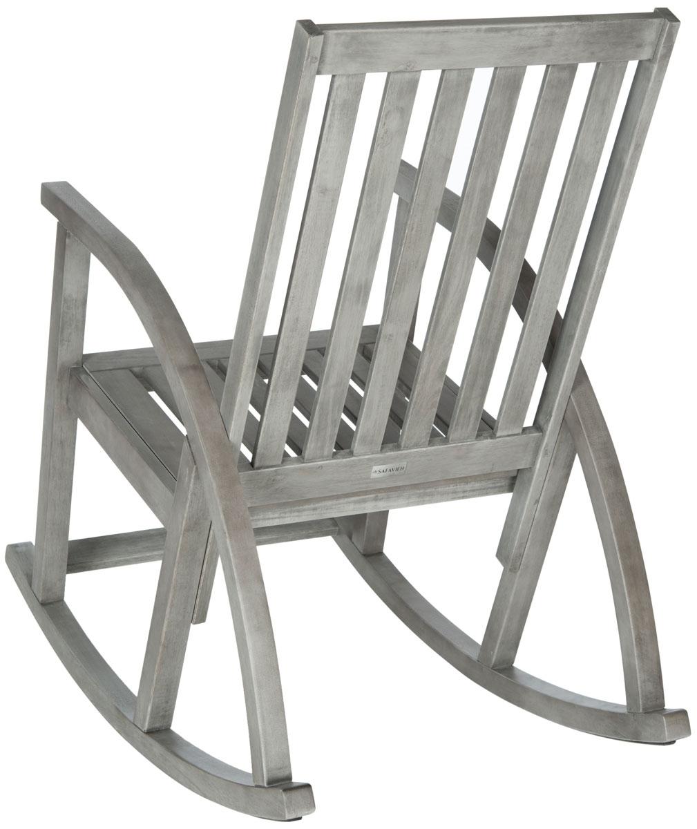Outdoor Rocking Chairs Furniture Safavieh Back Gray Chair Zen Wooden In Zen Rocking Chairs (View 12 of 15)