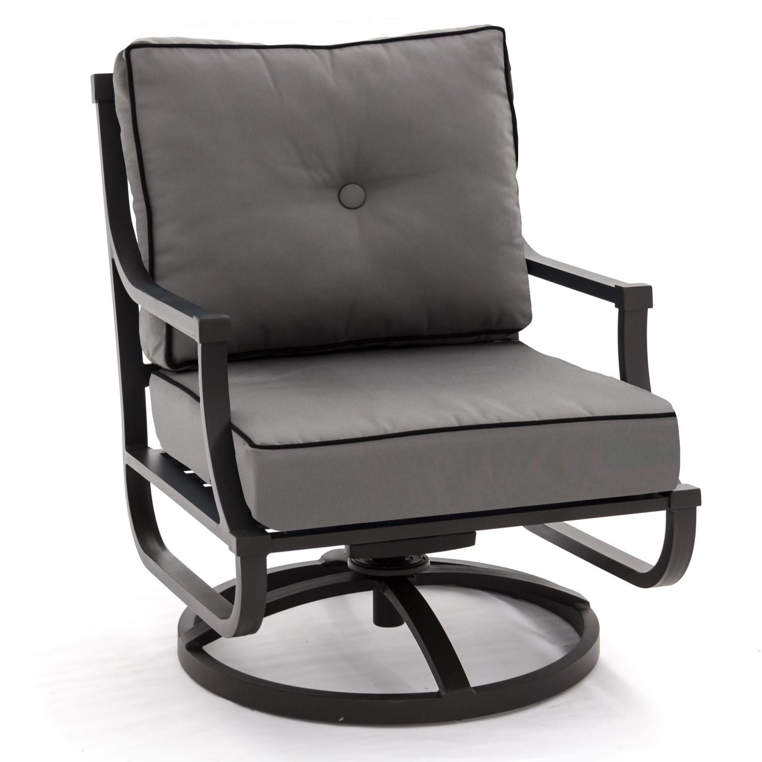 Outdoor Swivel Rocking Chairs – Ehindtimes Intended For Aluminum Patio Rocking Chairs (View 2 of 15)