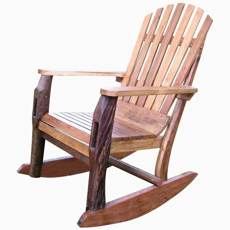 Outdoor Wood Rocking Chair Gallery Patio Chairs Outdoor Wooden Regarding Patio Wooden Rocking Chairs (#13 of 15)