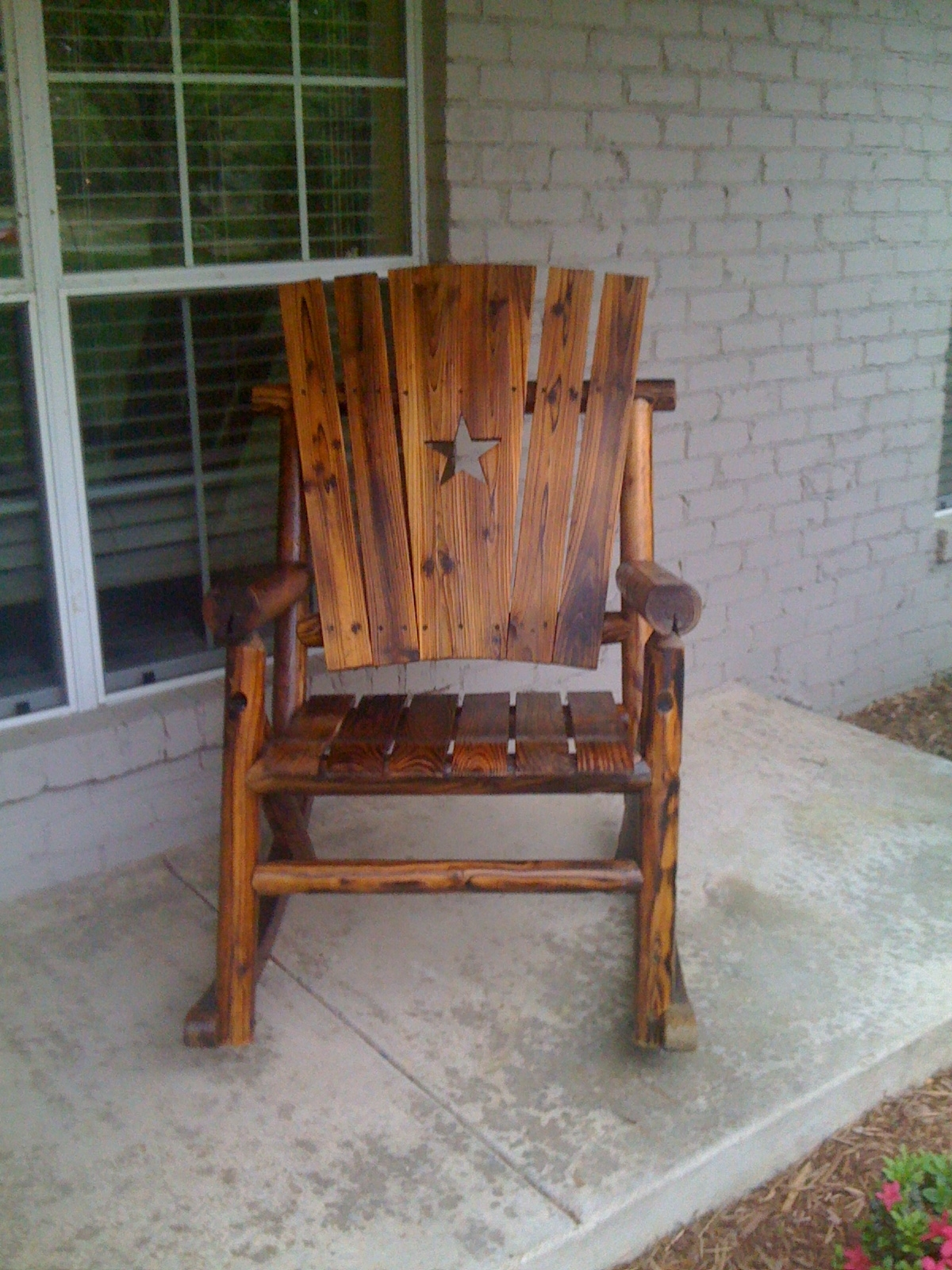 Outdoor Wooden Rocking Chairs Models : Pleasure Outdoor Wooden Inside Rocking Chair Outdoor Wooden (View 11 of 15)