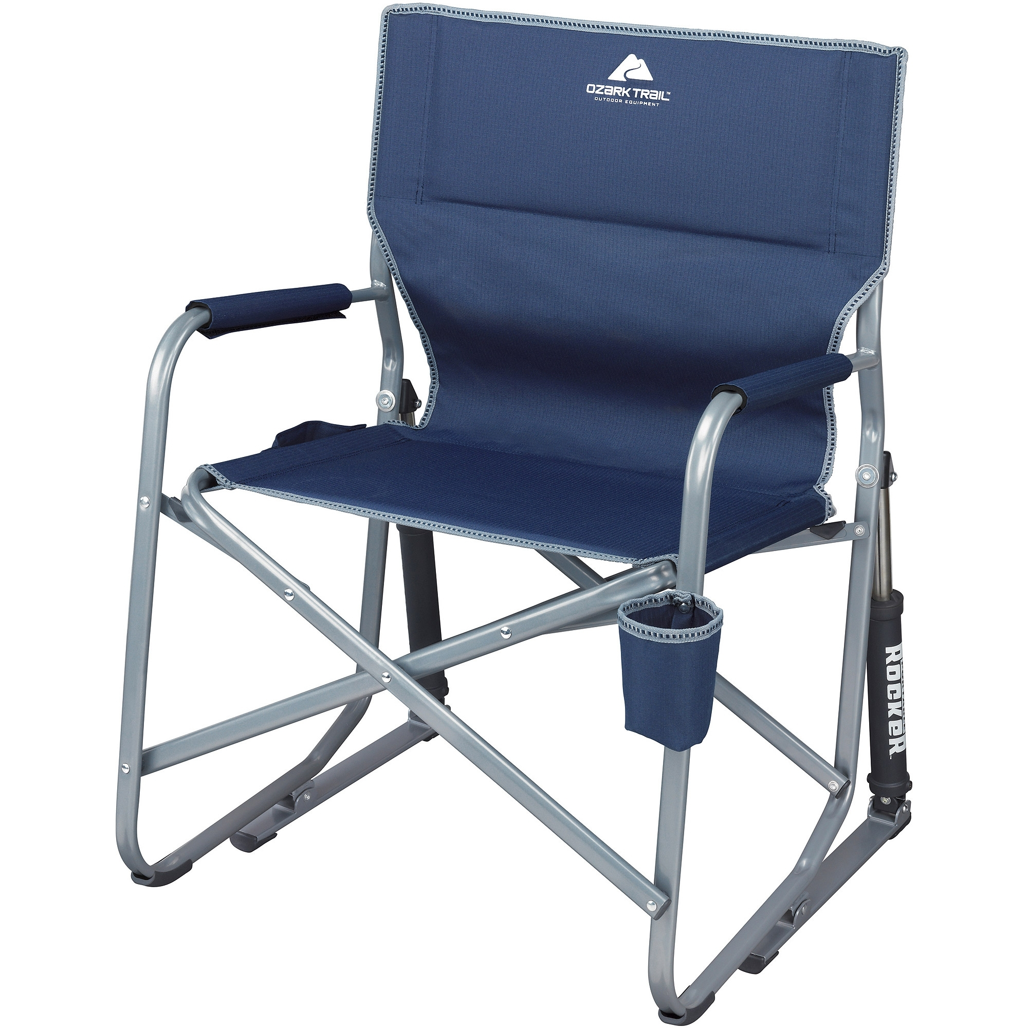 Ozark Trail Portable Rocking Chair – Walmart With Folding Rocking Chairs (#9 of 15)