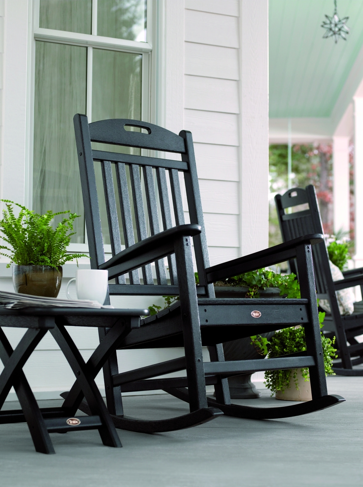 Patio Furniture Rocking Chair | Rocking Chairs | Outdoor Rocking Throughout Rocking Chairs For Porch (View 11 of 15)