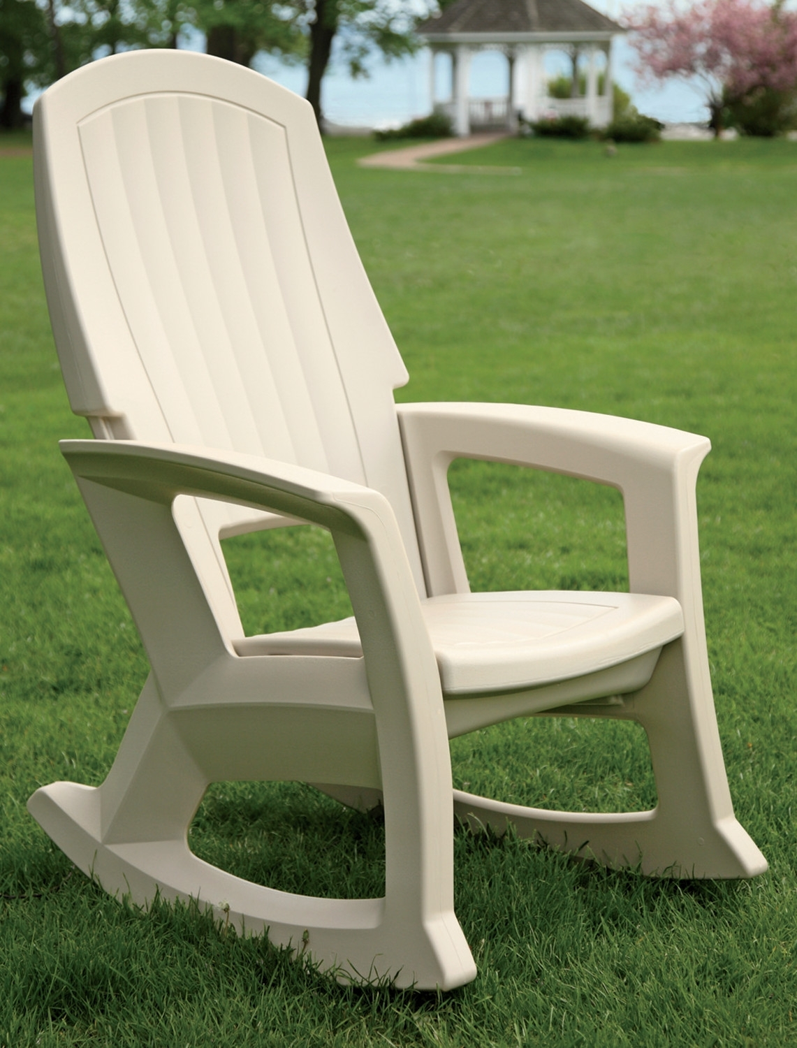 Inspiration about Patio Rocking Chairs Color : Spectacular And Sensational Patio Within Plastic Patio Rocking Chairs (#7 of 15)