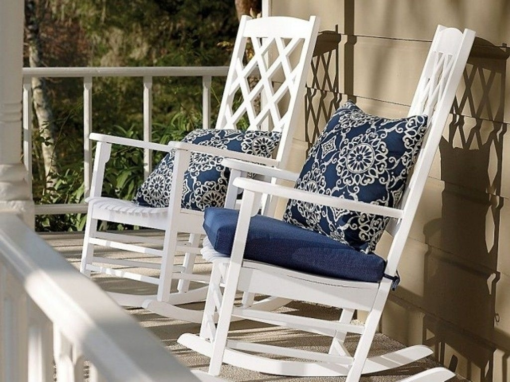 Popular Photo of Rocking Chair Cushions For Outdoor