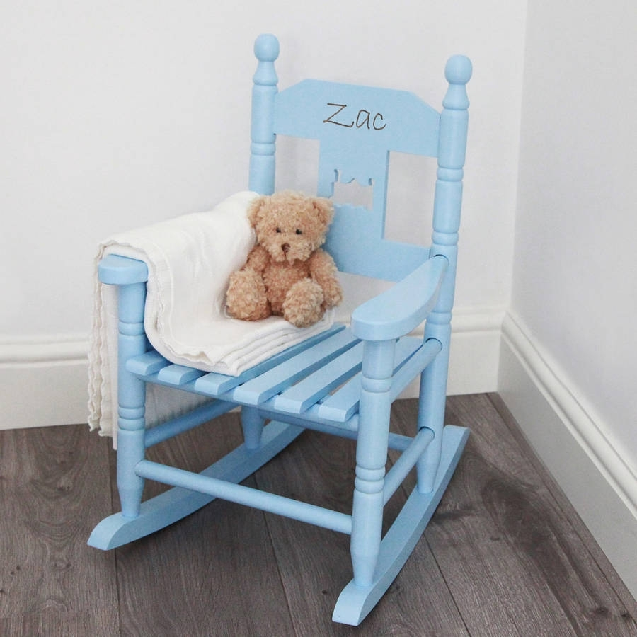 Personalised Child's Rocking Chairmy 1St Years In Rocking Chairs For Babies (#14 of 15)