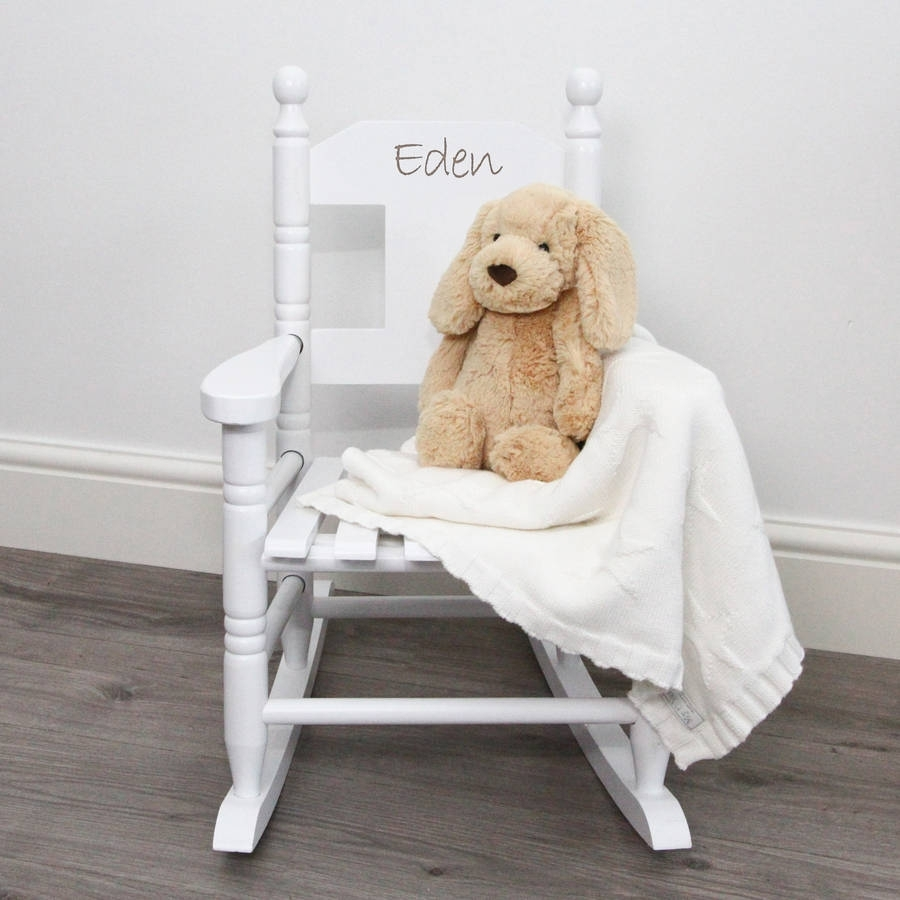 Inspiration about Personalised Child's Rocking Chairmy 1St Years Pertaining To Rocking Chairs For Toddlers (#13 of 15)