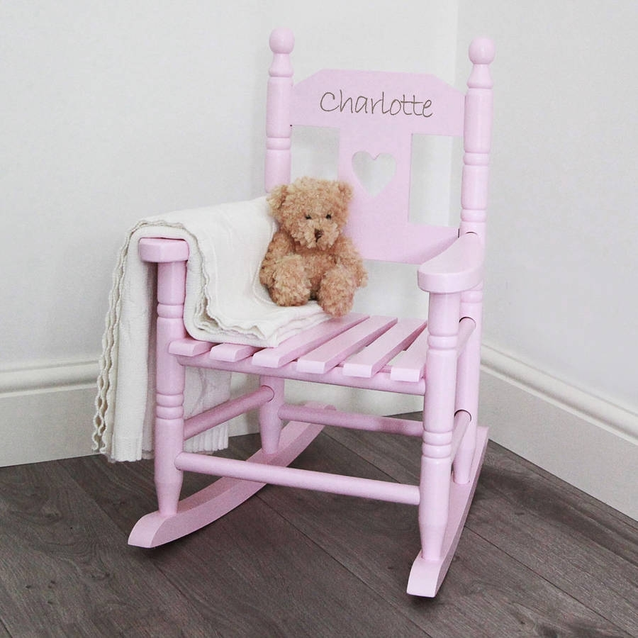 Popular Photo of Rocking Chairs For Toddlers
