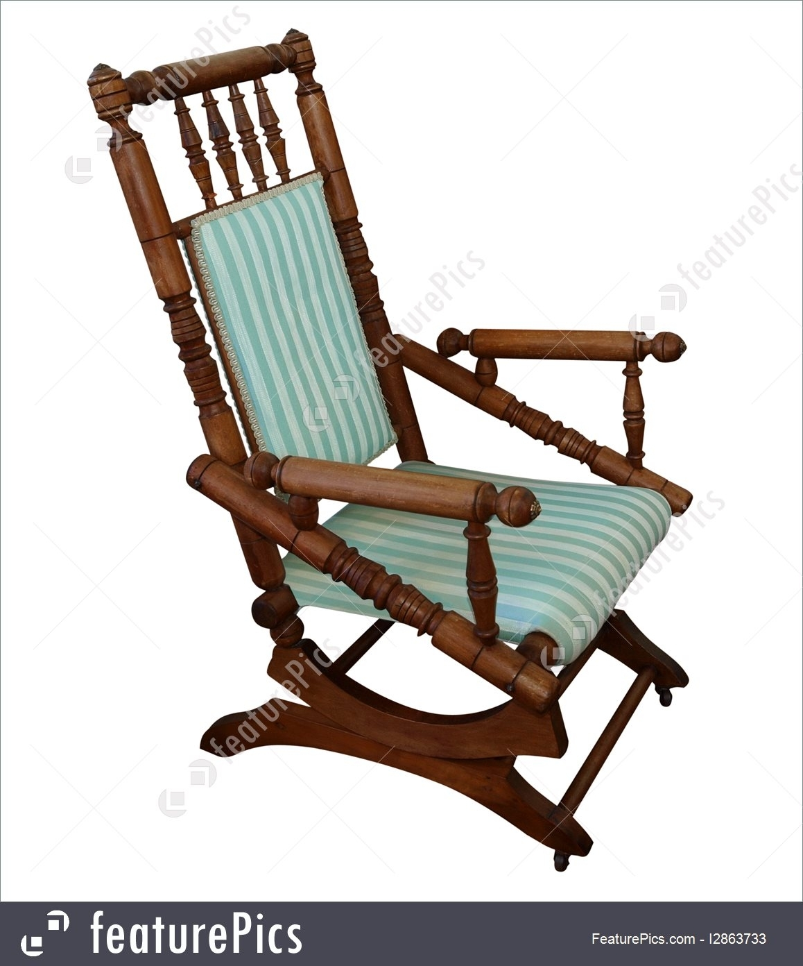 Picture Of Antique Rocking Chair With Antique Rocking Chairs (#12 of 15)