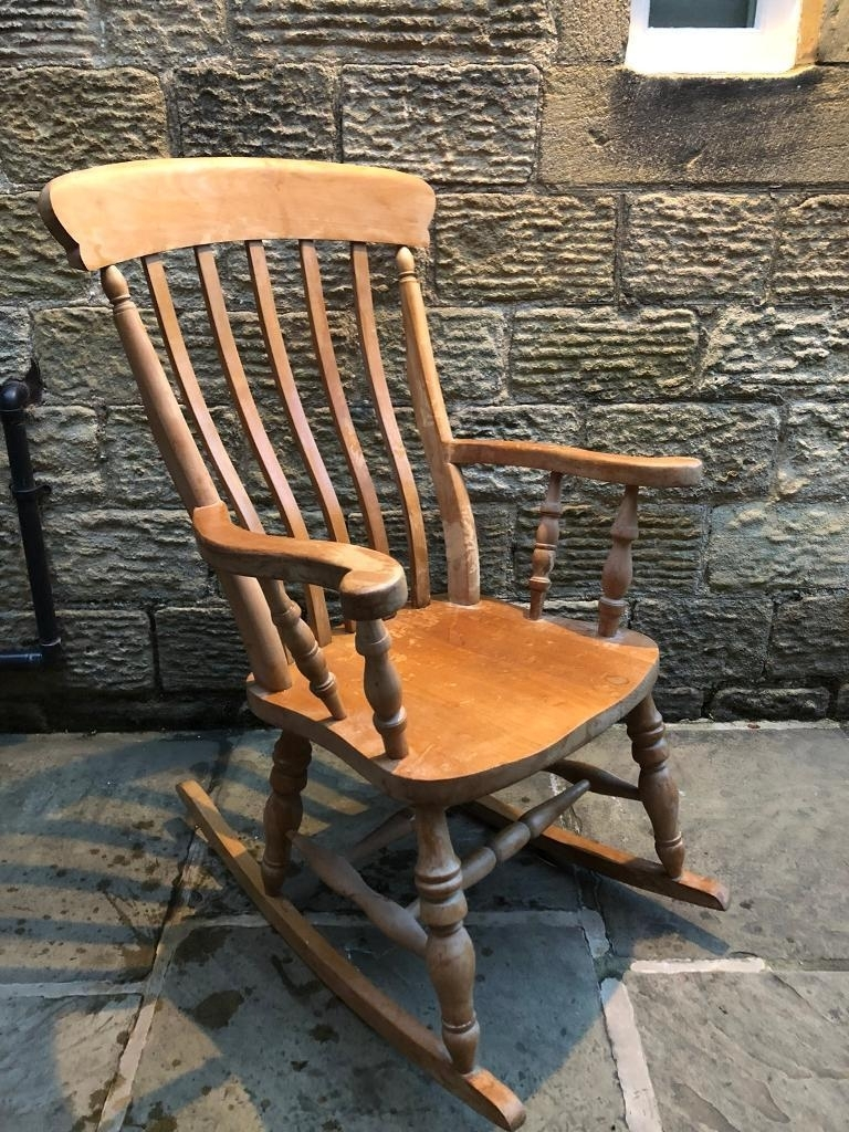 Pine Rocking Chair | In Ilkley, West Yorkshire | Gumtree For Rocking Chairs At Gumtree (View 5 of 15)