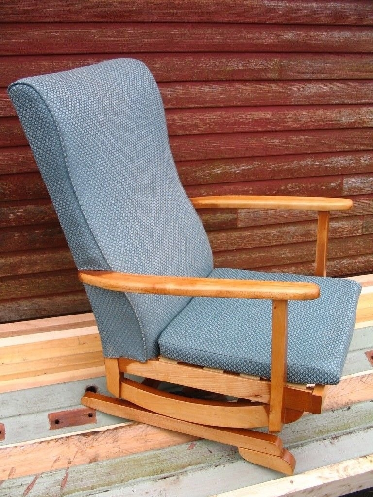 Platform Rocking Armchair, Spring Rocker Chair, Nursing Chair Mid Within Rocking Chairs At Gumtree (View 6 of 15)