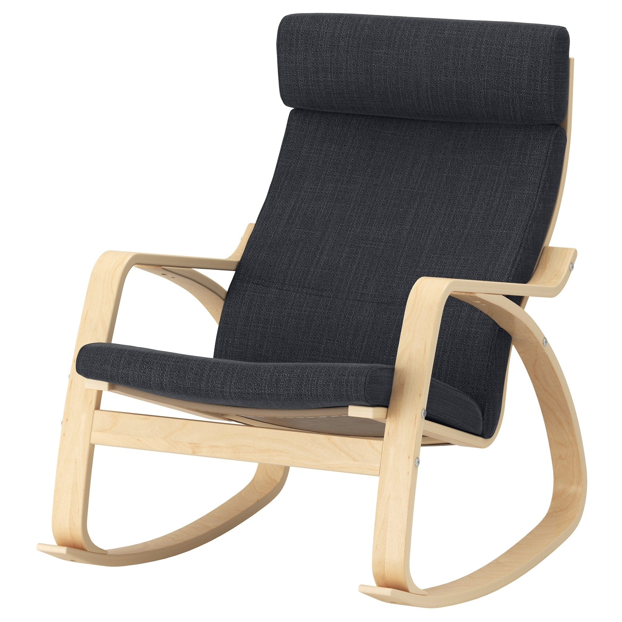 Inspiration about Poäng Rocking Chair Birch Veneer/hillared Anthracite – Ikea In Rocking Chairs At Ikea (#6 of 15)