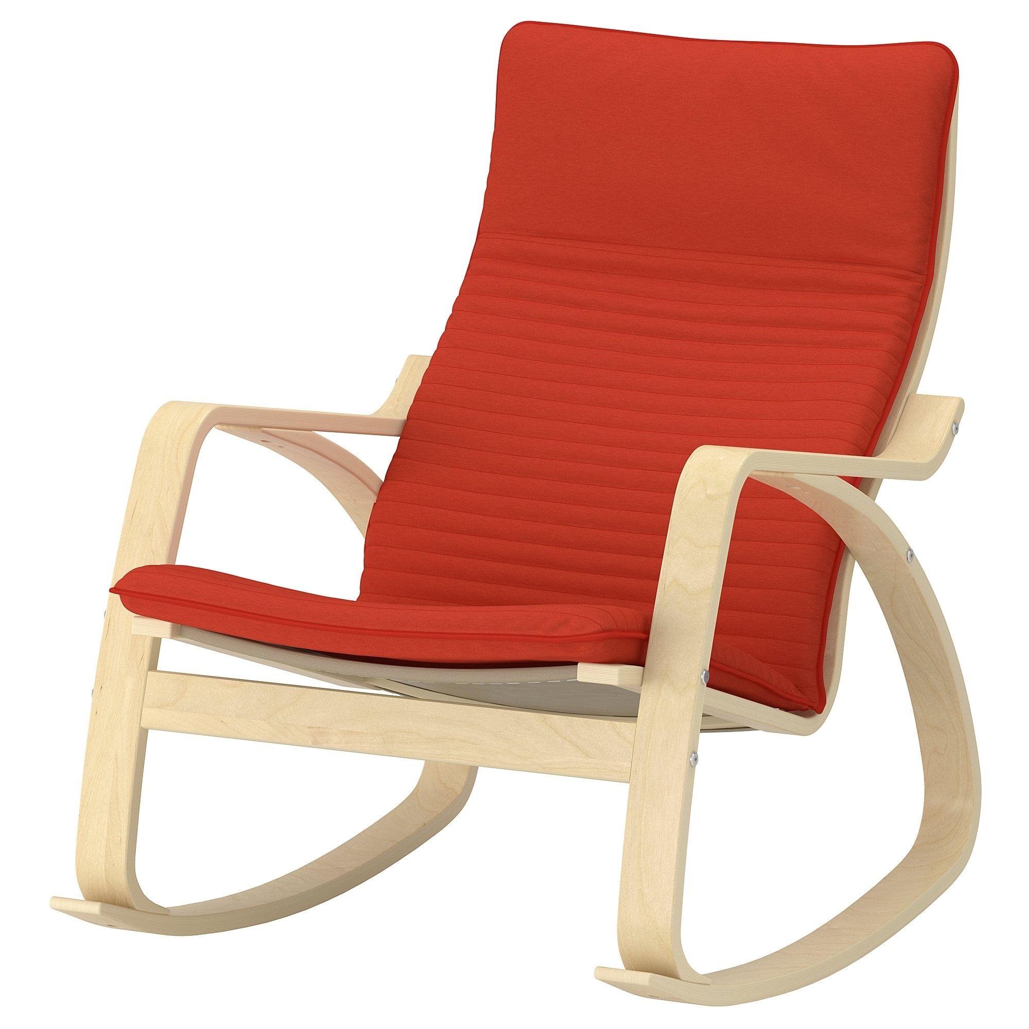 Inspiration about Poäng Rocking Chair – Knisa Red/orange – Ikea In Ikea Rocking Chairs (#10 of 15)