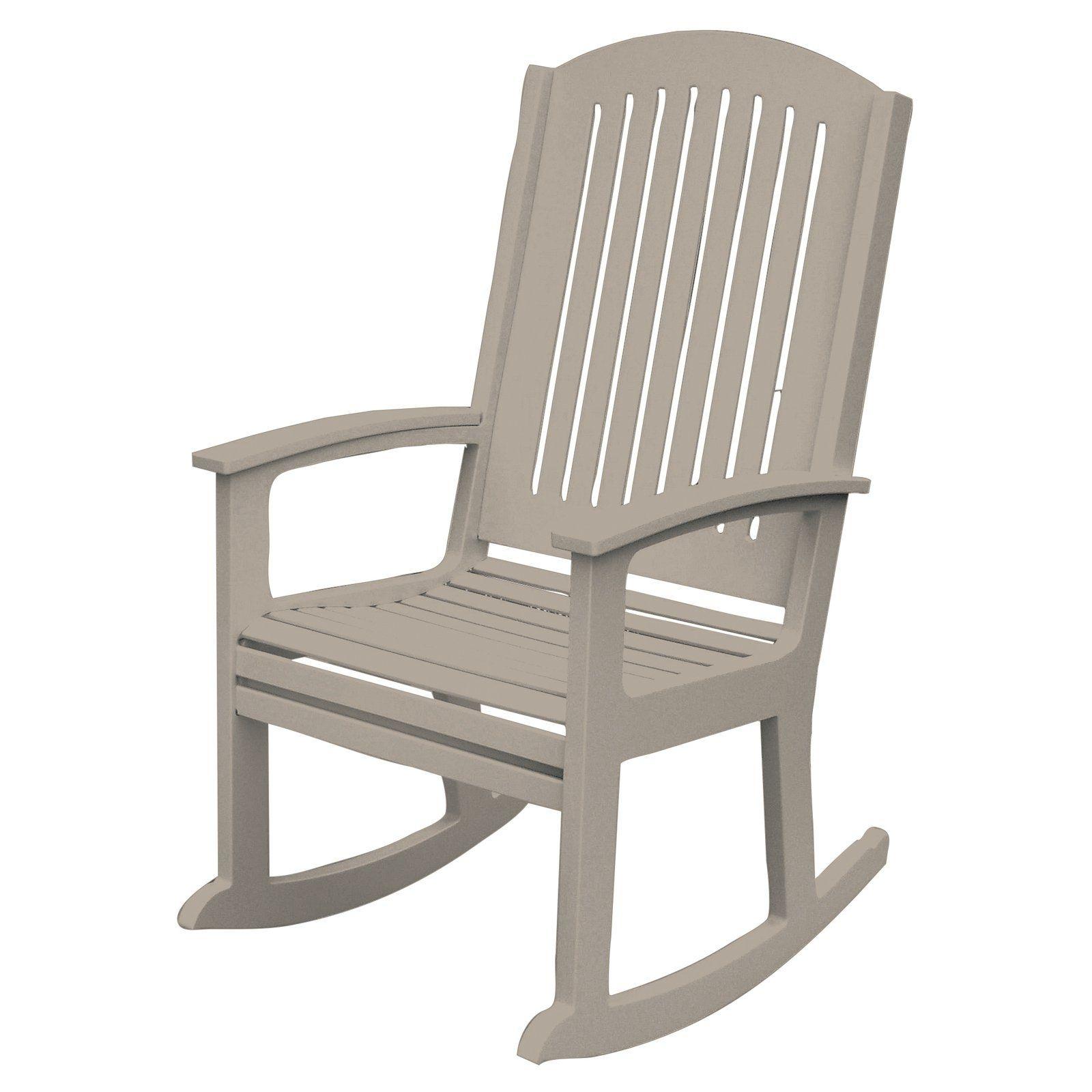 Poly Concepts Outdoor Andureflex High Back Rocker | From Hayneedle Pertaining To High Back Rocking Chairs (#11 of 15)