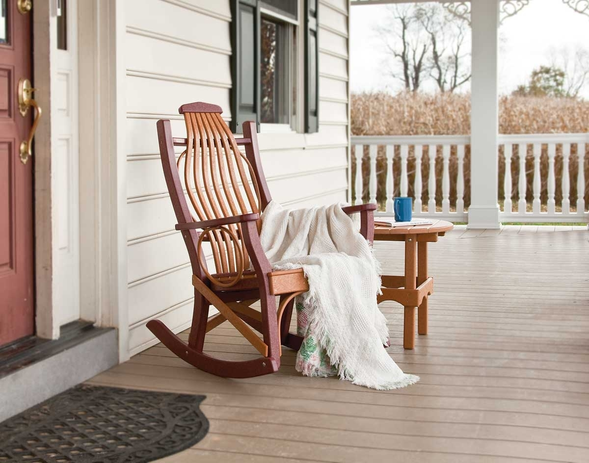 Porch Rocking Chair Ideas — Wilson Home Ideas : Vintage Porch Intended For Rocking Chairs For Porch (View 13 of 15)
