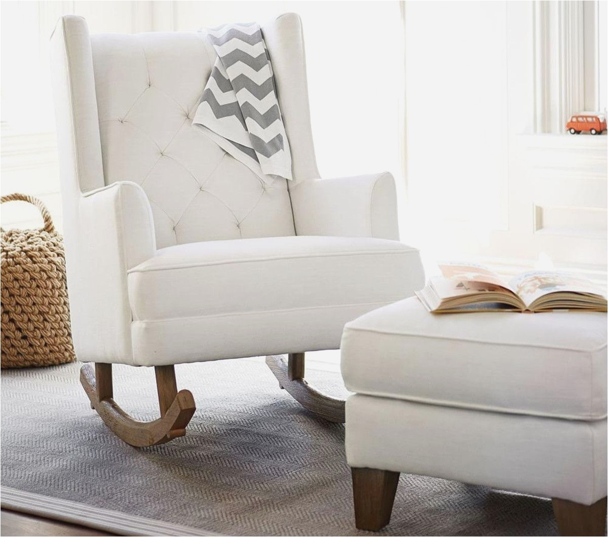 Inspiration about Pottery Barn Rocking Chair Contemporary Stunning Baby Furniture For Rocking Chairs For Nursery (#14 of 15)
