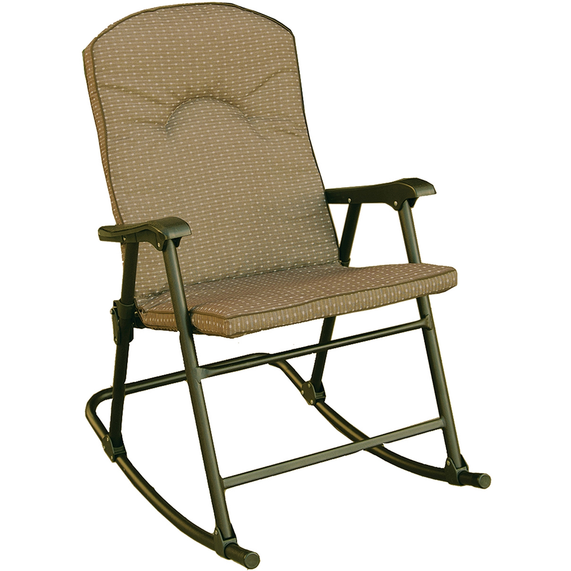 Prime Products Cambria Padded Rocker, Desert Taupe, 13 6805 Intended For Padded Patio Rocking Chairs (#14 of 15)