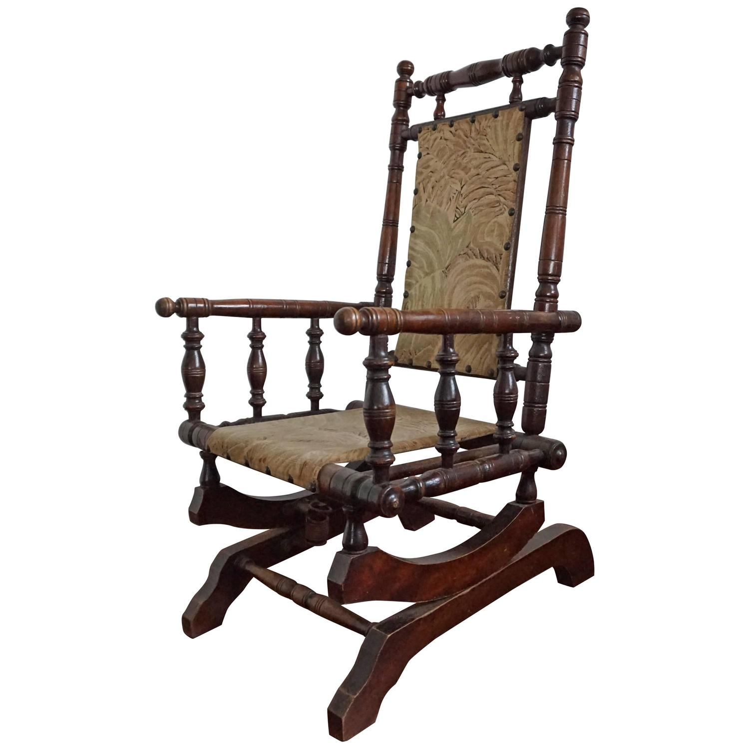 Popular Photo of Antique Rocking Chairs